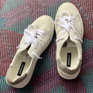 White mens shoes